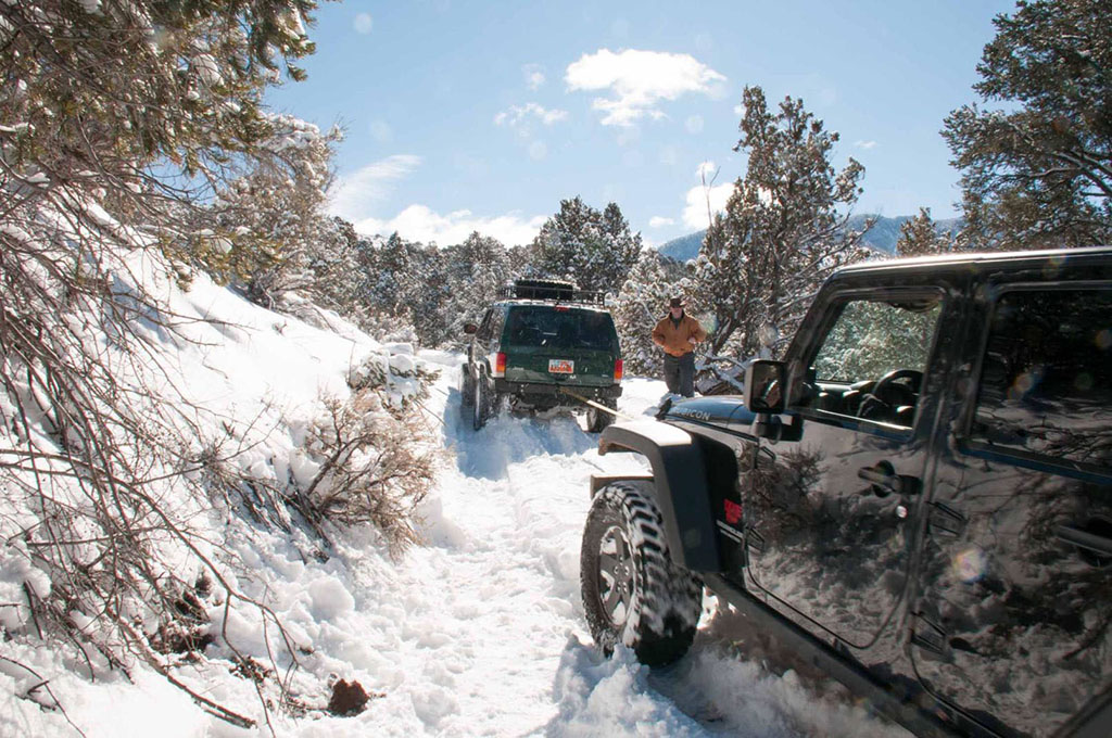 Snow Run - Baker Reservoir to Pine Valley to Pinto   Dixie ...
