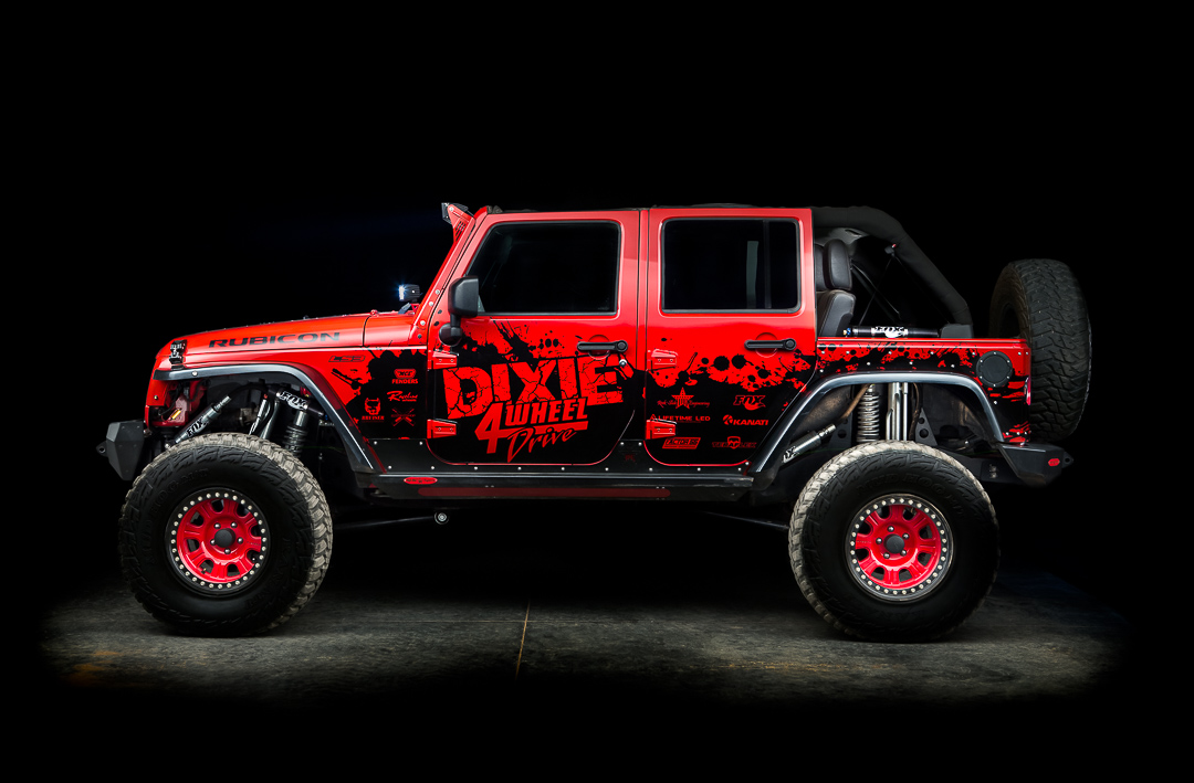 Winch For Jeep >> Bryce's Red Hot LS3 JK | Dixie 4 Wheel Drive
