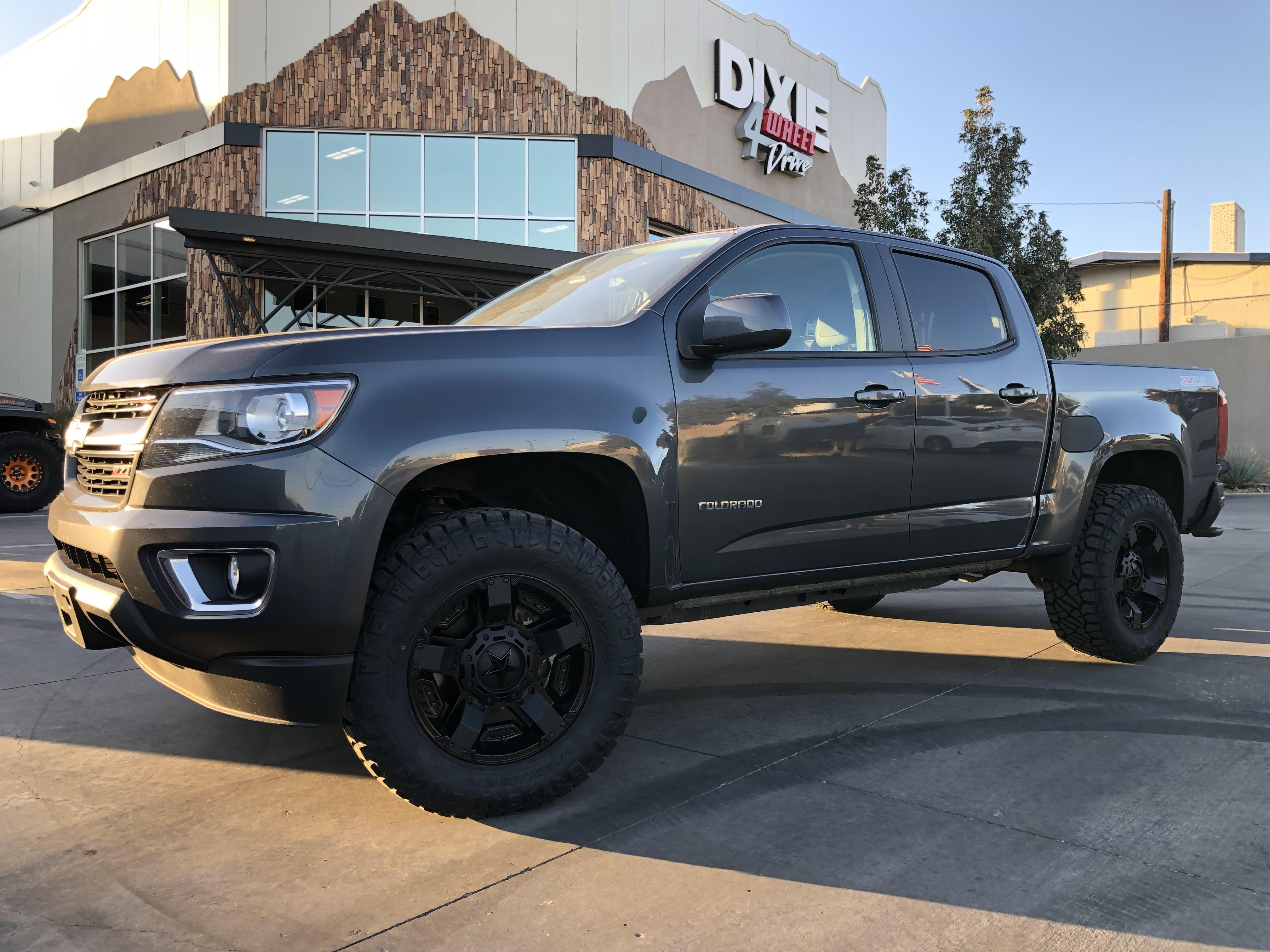 Nate S Chevy Z71 Colorado Lift And Suspension Build Out Dixie 4 Wheel Drive