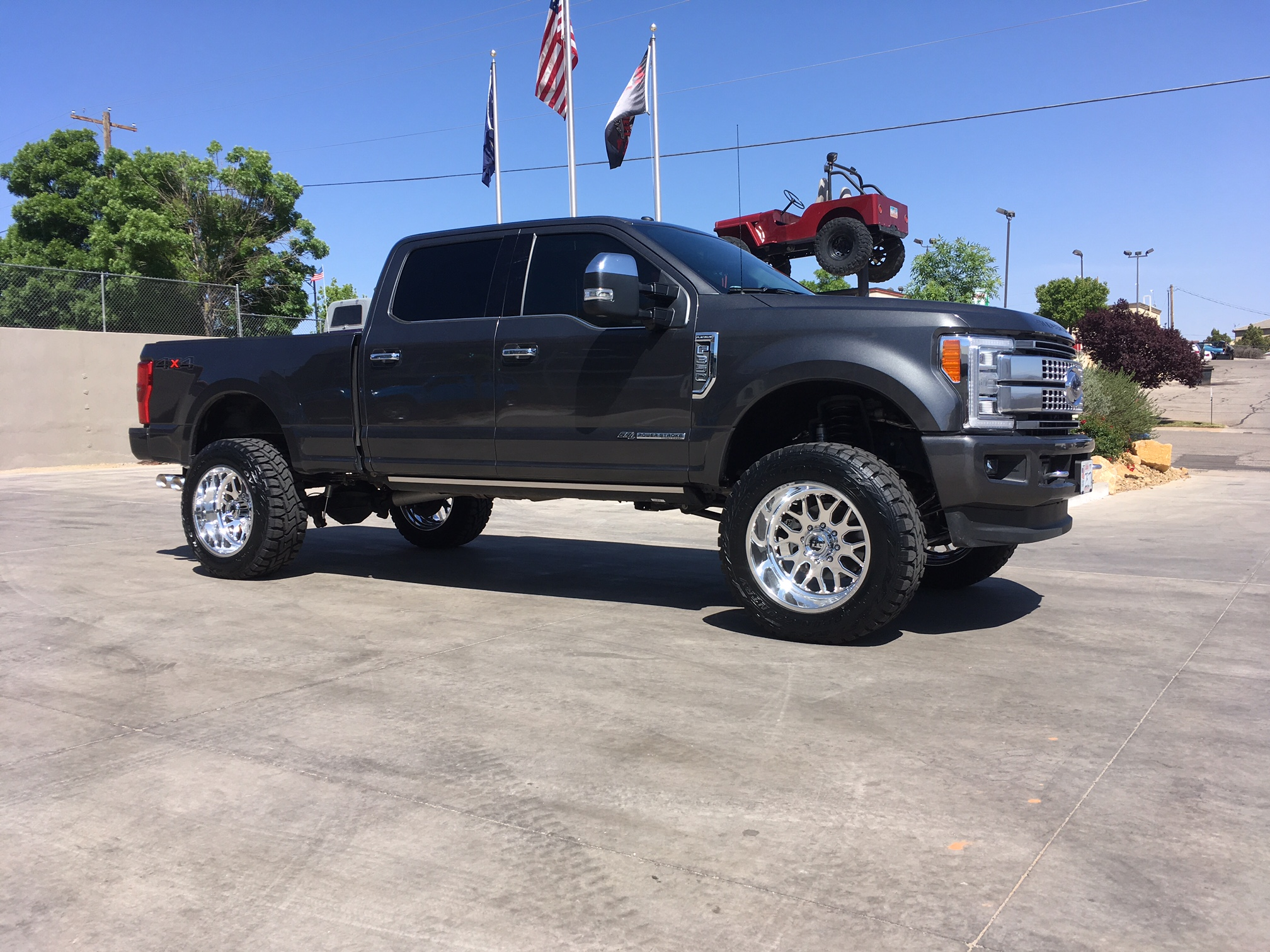 american kelderman f lewisville ford shooter features platinum autoplex diesel force
