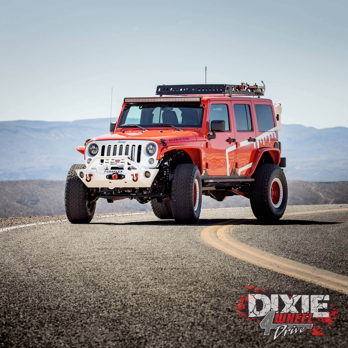 Todd S 2015 Orange Jku Jeep Wrangler Unlimted Rubicon