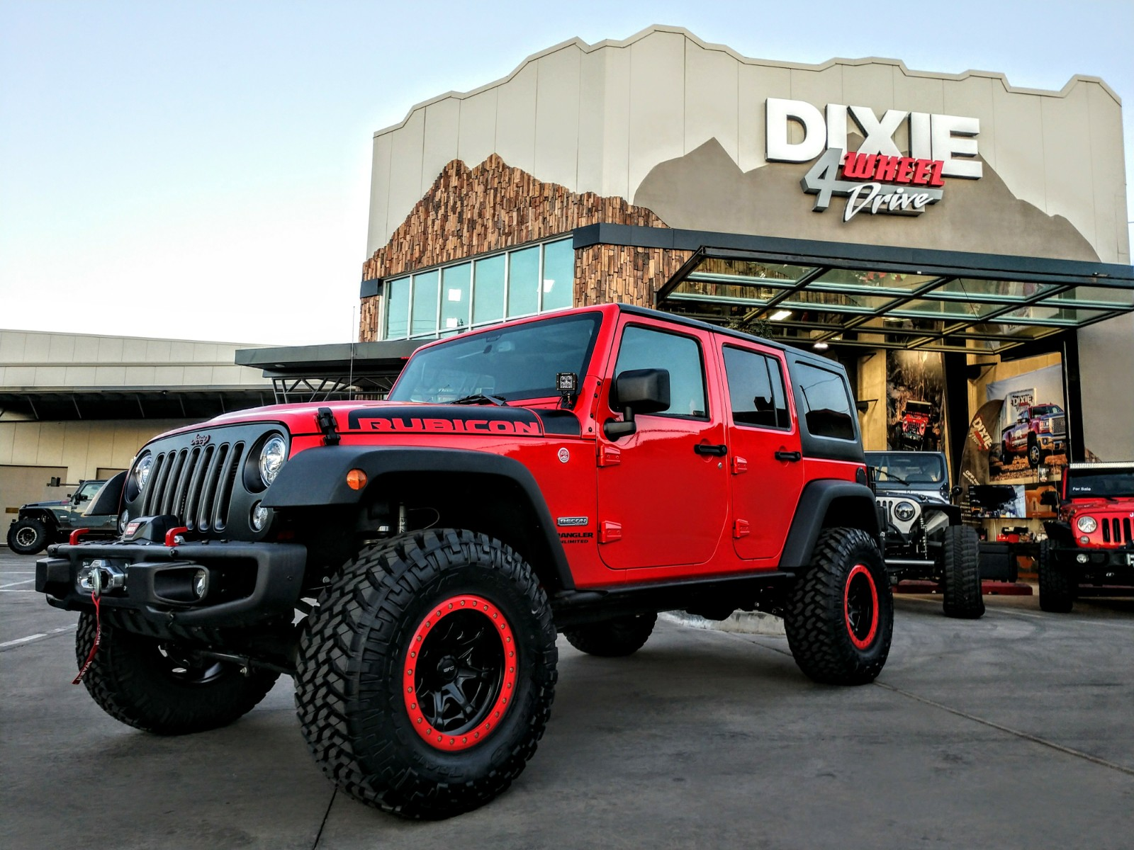 Taylor's 2017 Jeep Rubicon Recon Custom Build | Dixie 4 ...