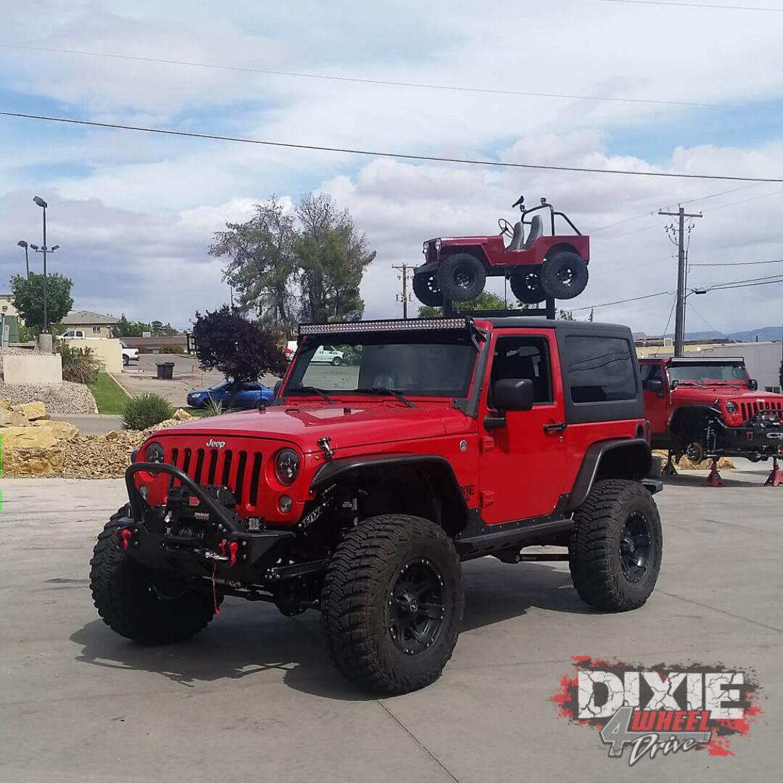 Adams Auto Sales >> 2007 Jeep JK sport PreRunner | Dixie 4 Wheel Drive