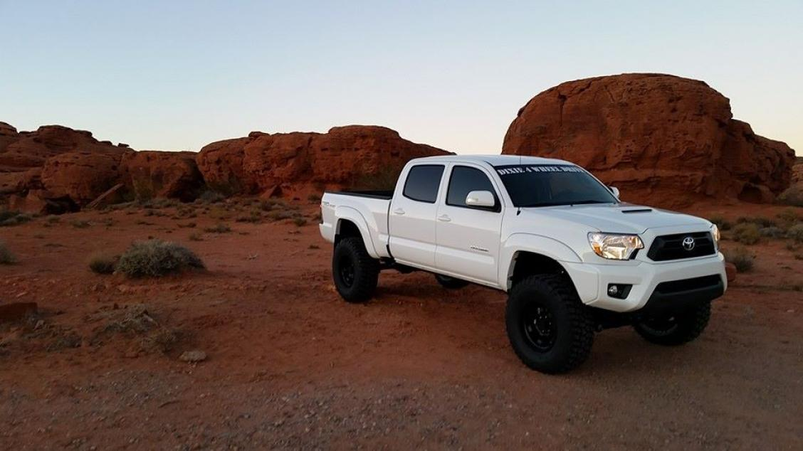 tacoma toyota custom lift shocks wheel drive builds brayden